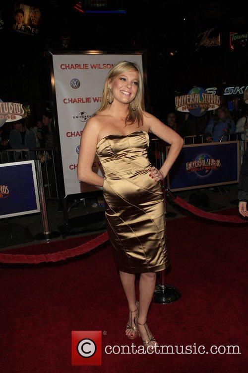 Carly Reeves 'Charlie Wilson's War' Premiere held at...