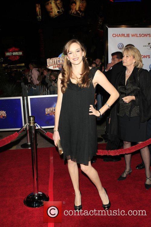 Danielle Panabaker 'Charlie Wilson's War' Premiere held at...