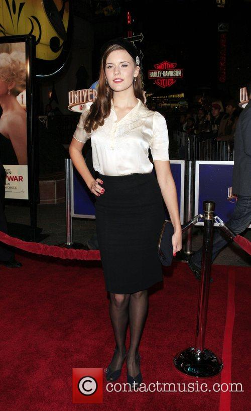 Maggie Grace 'Charlie Wilson's War' Premiere held at...