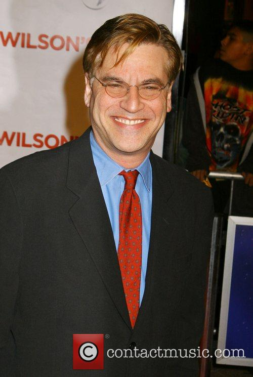Screenwriter Aaron Sorkin 'Charlie Wilson's War' Premiere held...