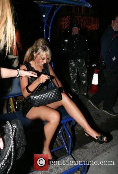 Arriving at Funky Buddha Nightclub on a rickshaw