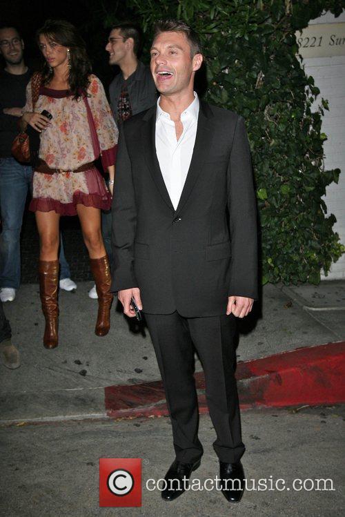 Ryan Seacrest leaving Chateau Marmont Los Angeles, California