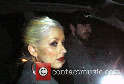 Christina Aguilera and Jordan Bratman 4