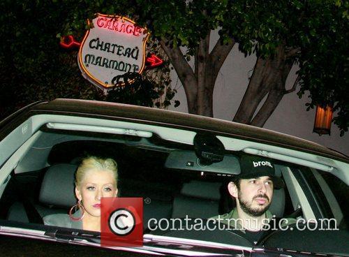 Christina Aguilera and Jordan Bratman 3