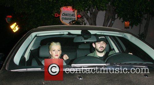 Christina Aguilera and Jordan Bratman 1