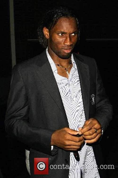 Didier Drogba Chelsea FA Cup Afterparty at Frankie's...