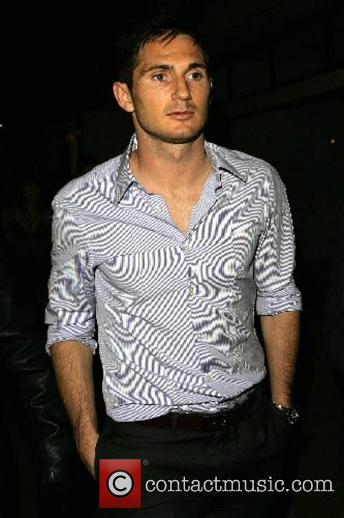 Frank Lampard Chelsea FA Cup Afterparty at Frankie's...