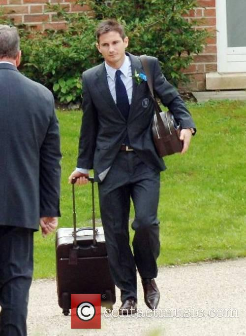 Frank Lampard The Chelsea football squad leaving The...