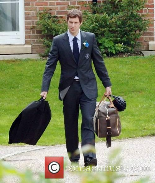 Petr Cech The Chelsea football squad leaving The...