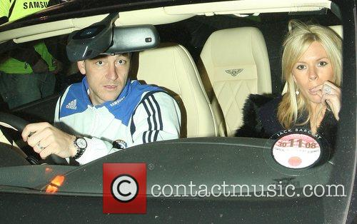 John Terry and Toni Poole Terry leave Stamford...
