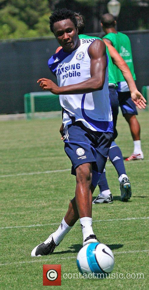 John Mikel Chelsea Football Club Training Camp at...