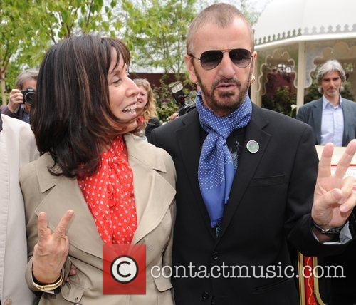 Olivia Harrison and Ringo Starr 1