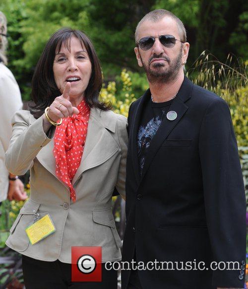 Olivia Harrison and Ringo Starr 2