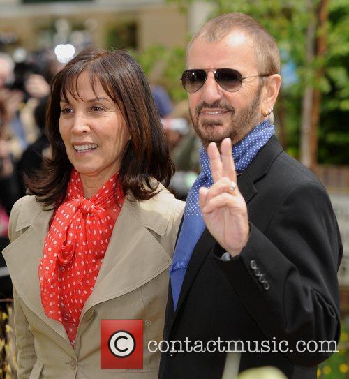 Olivia Harrison and Ringo Starr 3