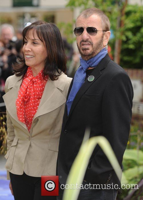 Olivia Harrison and Ringo Starr 6