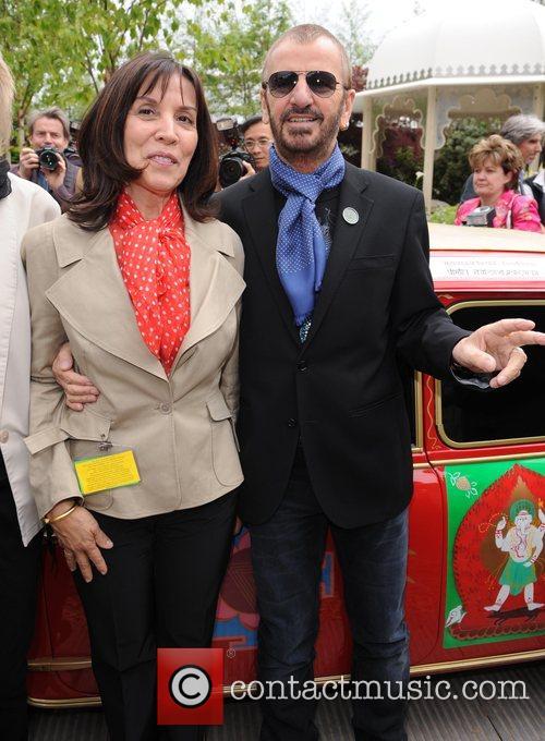 Ringo Starr and Olivia Harrison 10