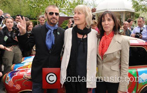 Ringo Starr and Olivia Harrison 2