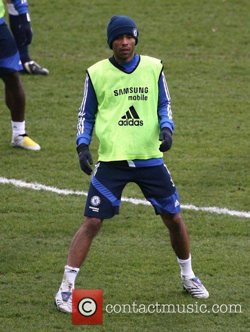 Ashley Cole  during a Chelsea Football Club...