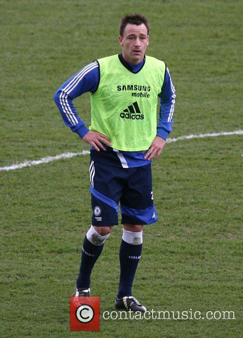 John Terry  during a Chelsea Football Club...