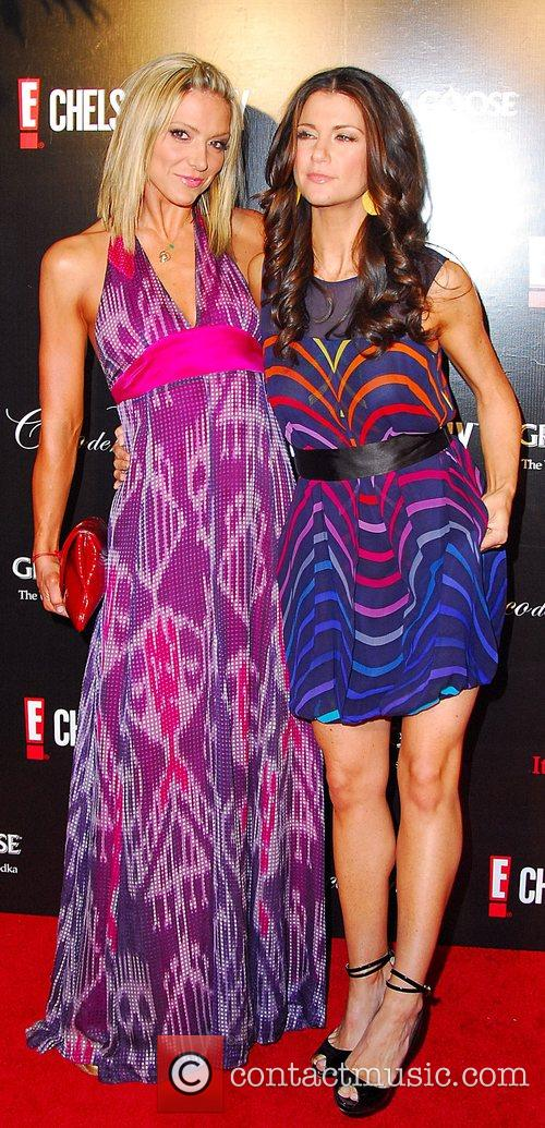 Debbie Matenopoulos and Samantha Harris 1