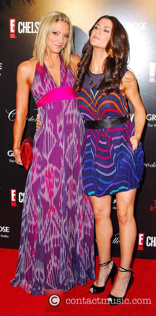 Debbie Matenopoulos and Samantha Harris Chelsea Handler's Book...