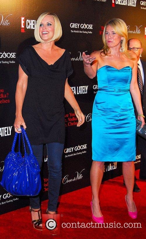 Jenny Mccarthy and Chelsea Handler 7