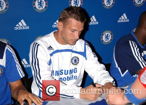 Andriy Shevchenko Chelsea FC make an exclusive appearance...