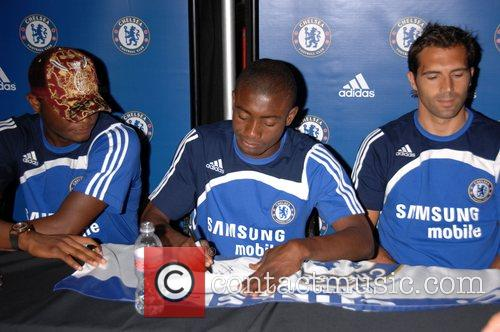 John Mikel and Salomon Kalou Chelsea FC make...