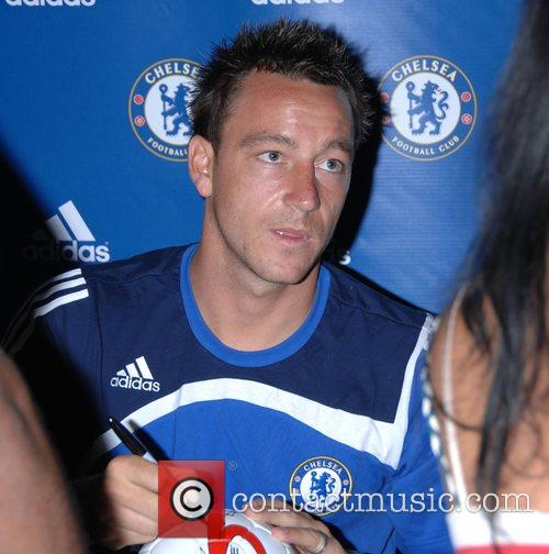 Chelsea FC make an exclusive appearance at the...
