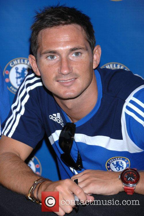 Frank Lampard Chelsea FC make an exclusive appearance...