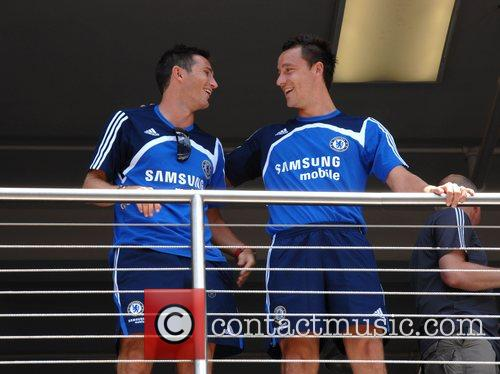 Frank Lampard and John Terry Chelsea FC make...