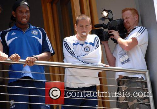 Didier Drogba and Joe Cole Chelsea FC make...