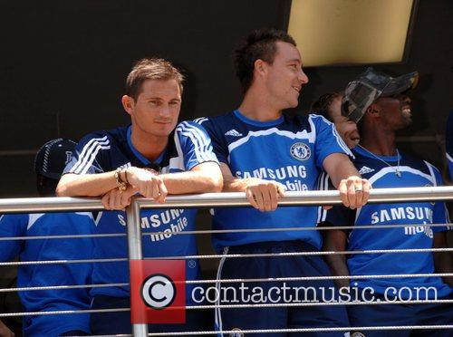 John Terry, Frank Lampard and Claude Makelele Chelsea...