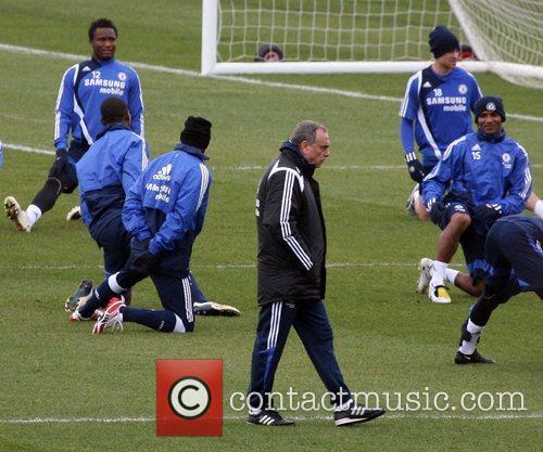Under pressure Chelsea boss Avram Grant ignores his...