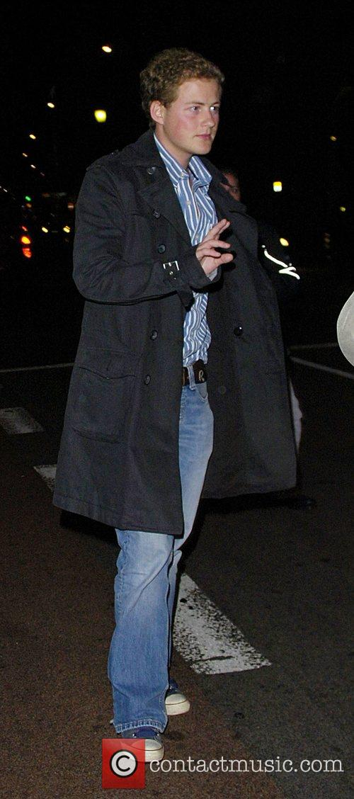 Guy Pelly leaving Mahiki Club London, England