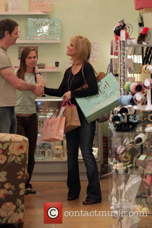 Cheryl Hines shopping at at Surly Girl Boutique...