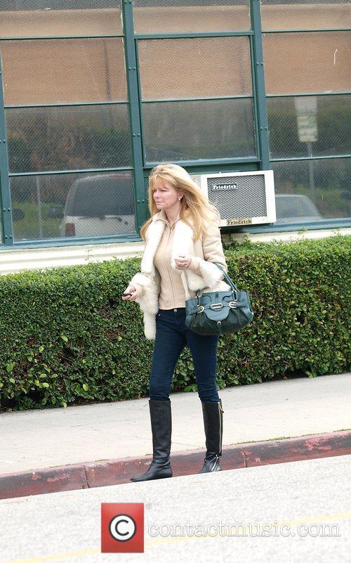 Cheryl Tiggs  Leaving the Salon in Beverly...