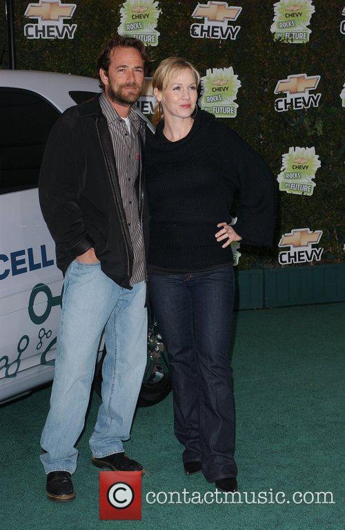 Luke Perry and Jennie Garth 'Chevy Rocks the...