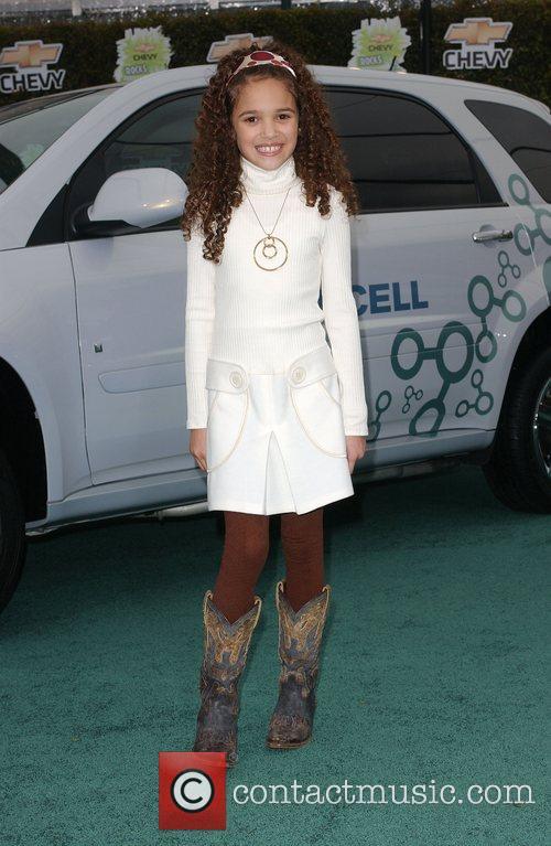 Madison Pettis 'Chevy Rocks the Future' at Walt...