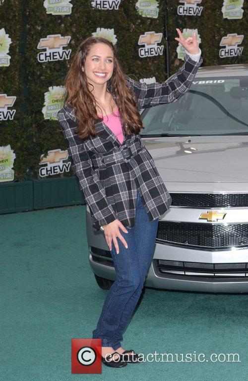 Maiara Walsh 'Chevy Rocks the Future' at Walt...