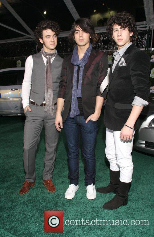 Jonas Brothers Perform at 'Chevy Rocks the Future'...