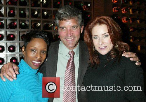 Brenda Braxton, Bruce Dimpflmaier and Michelle Potterf...
