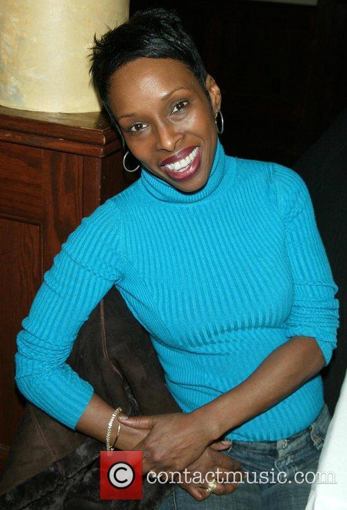 Brenda Braxton celebrating the 11th anniversary of the...