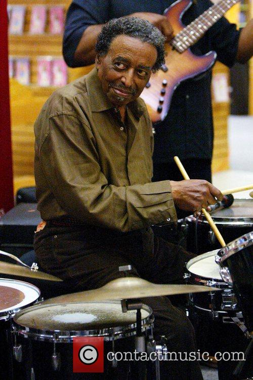 Jazz percussionist Foreststorn 'Chico' Hamilton performs 16