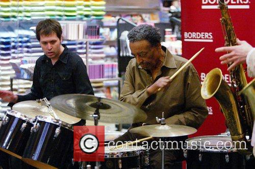 Jazz percussionist Foreststorn 'Chico' Hamilton performs 23