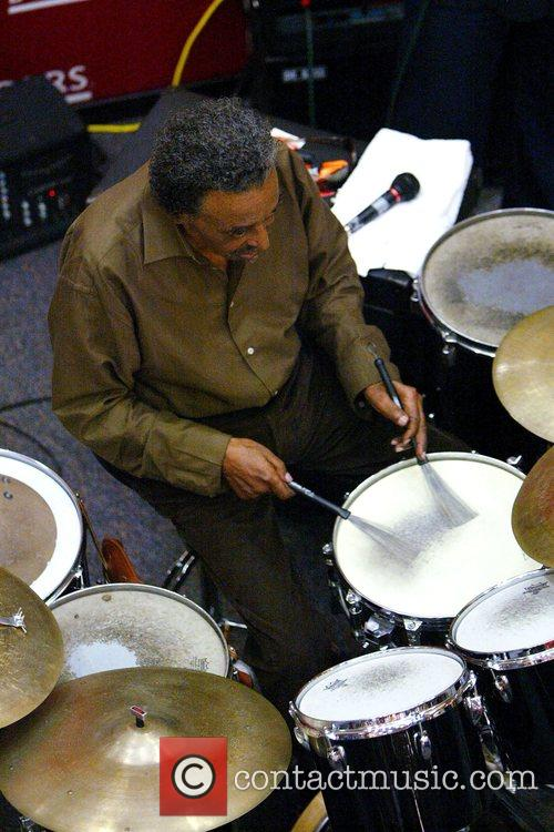 Jazz percussionist Foreststorn 'Chico' Hamilton performs 20