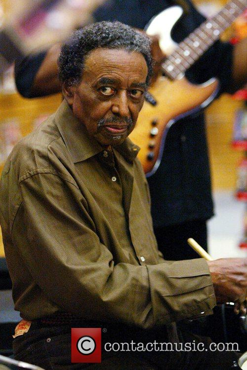 Jazz Percussionist Foreststorn 'chico' Hamilton Performs 4