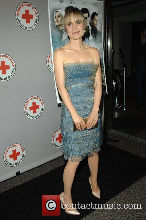 Radha Mitchell attends the New York City Premiere...
