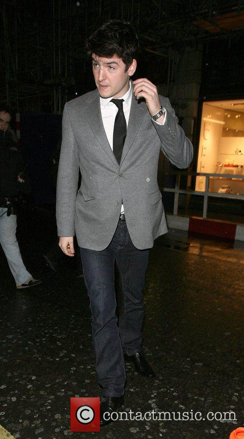 James Alexandrou leaving Chinawhite nightclub London, England