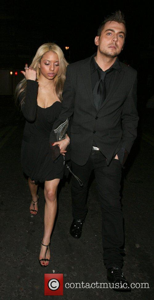 Paul Danan and a mystery blonde leaving Chinawhites...